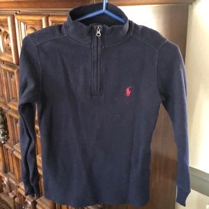 Polo Ralph Lauren kids age 8 top, navy blue